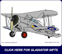 Gloster Gladiator link ad.