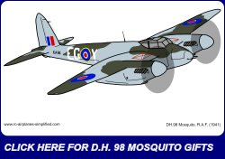 DH Mosquito 250 ad.