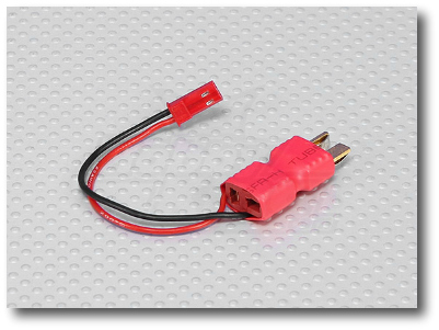 Power Connector Adapter:T to JSTmale