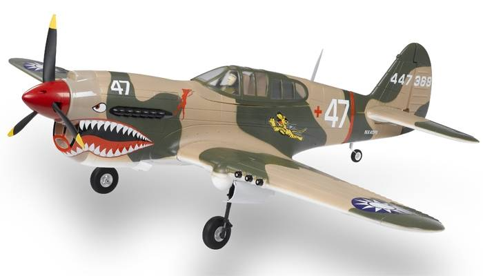 The RC P-40 Warhawk