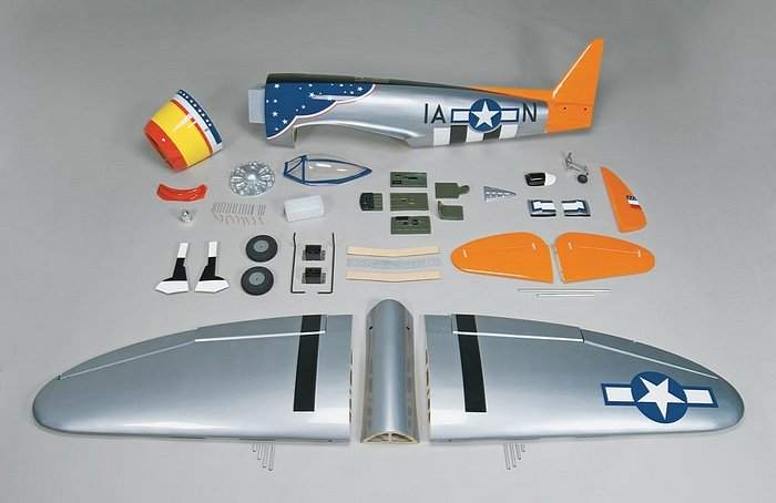 Top Flite P-47 giant scale ARF components