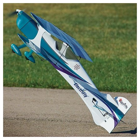 The Park Flyer. Great Planes Reactor Bipe EP 3D.