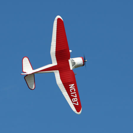 Parkzone Stinson Reliant flying