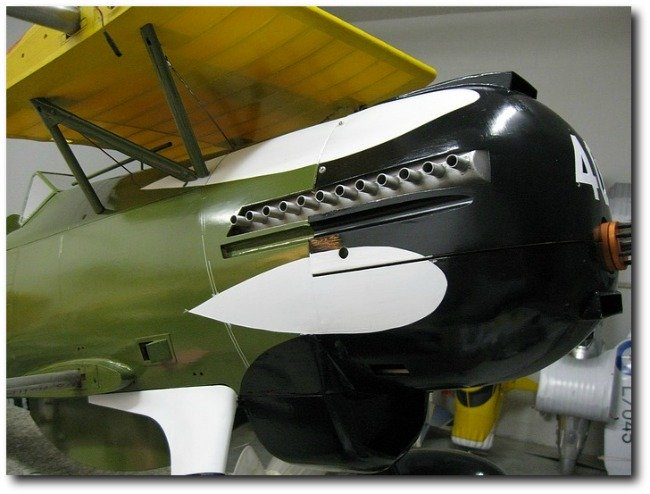 Curtiss P-6E Hawk: 1/4 scale model nose