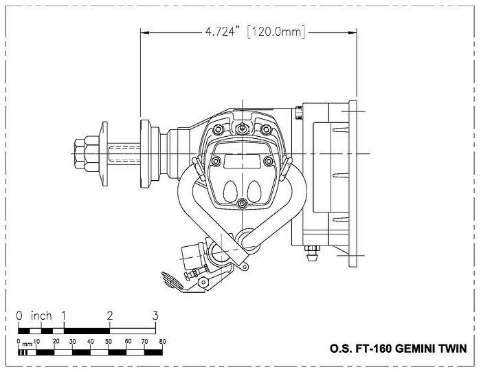 OS Ft 160 side view drawing PDF