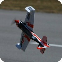 RC Micro flying knife edge