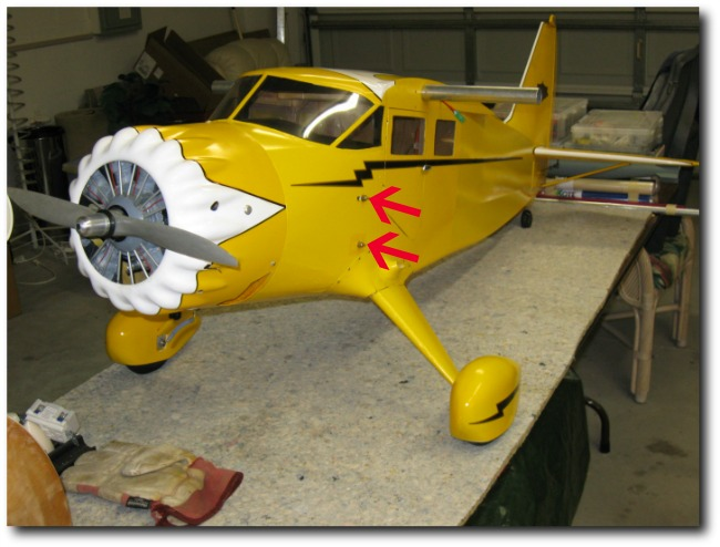 Top Flite Stinson Reliant fuselage
