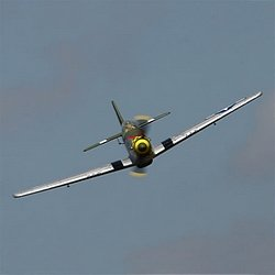 The North American P-51. The Parkzone P-51D BL