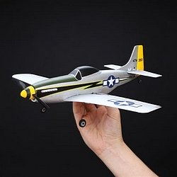 RC Mustang. The Parkzone Ultra Micro P-51D Mustang