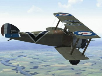 Sopwith Camel RC airplane