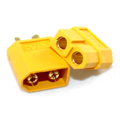 The XT60 connector for lipo batteries