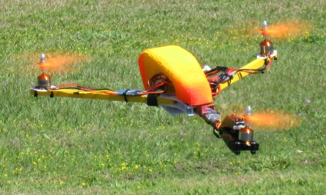 The CW Tricopter