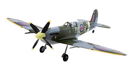 Overall view of the Spitfire