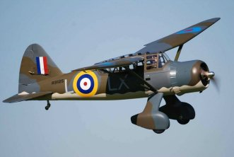 Seagull Models Lysander Flying by